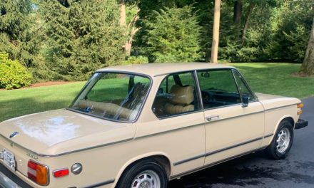 Tan Tuetonic: 1975 BMW 2002 5-Speed 56K Mile Survivor – SOLD!