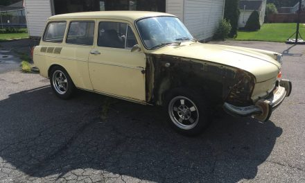 Vintage EMPIs: 1972 Volkswagen Squareback Project – SOLD!