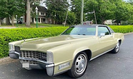 UPP Powered: 1968 Cadillac Eldorado 52K Survivor – STILL $27,900