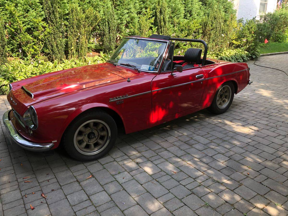 1968 Datsun 2000 Sports Roadster For Sale Guyswithrides Com