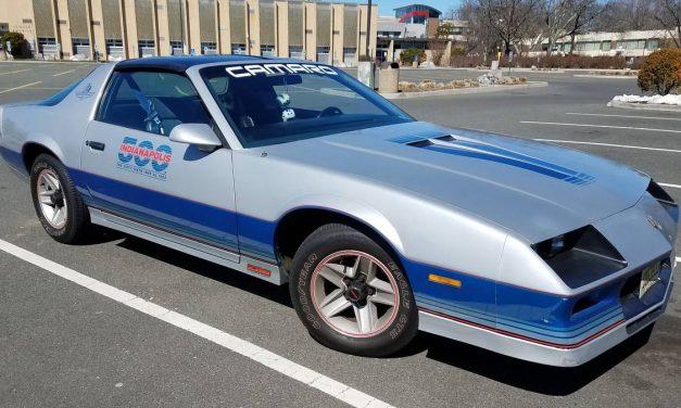 """It"" Car: 1982 Chevrolet Camaro Z28 Indy 500 Pace Car Replica – $10,975"