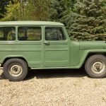 Winch Equipped: 1961 Willys Jeep 4X4 Station Wagon – $8,500