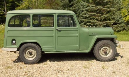 Winch Equipped: 1961 Willys Jeep 4X4 Station Wagon – STILL $8,500