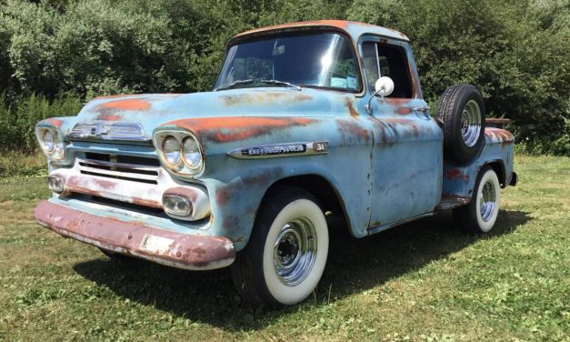 Perfect Patina: 1958 Chevrolet Apache 3100 Stepside – SOLD!