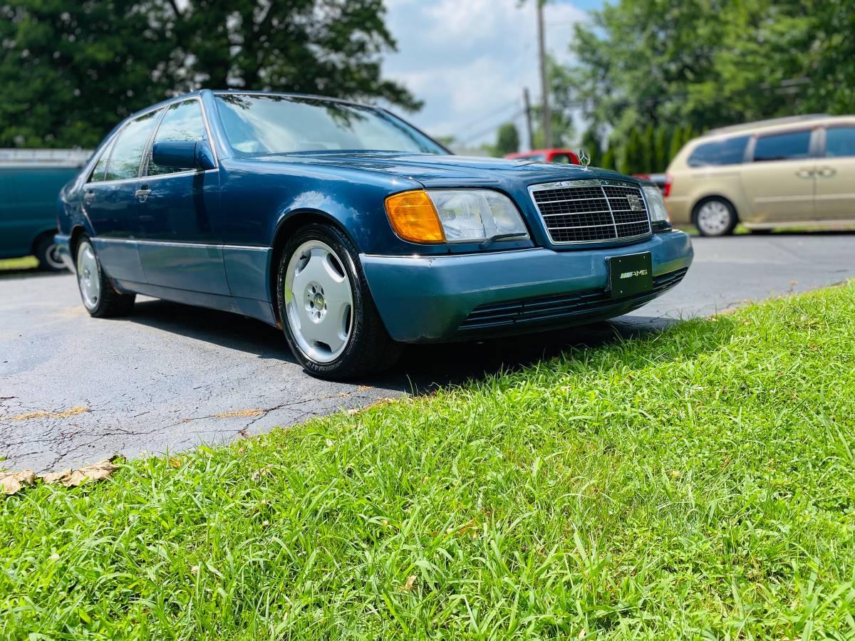 Flagship Flyer  1993 Mercedes Benz W140 600sel  U2013 Sold