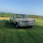 Two Owner: 1975 Dodge D100 Pickup – $7,250
