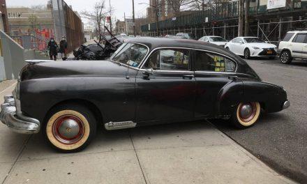 Unrestored Rocket: 1949 Oldsmobile 88 Futuramic Fastback – STILL $7,500