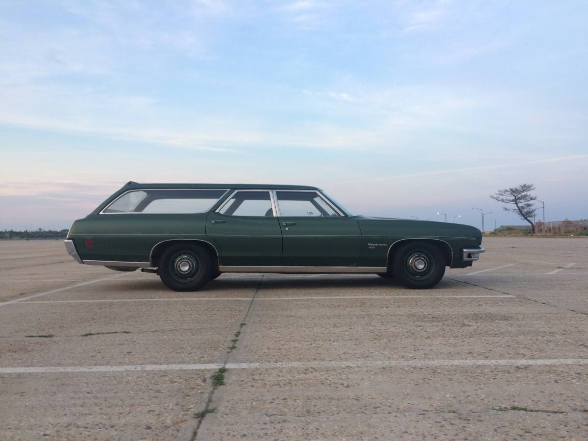 Part Out Or Rebuild  1970 Pontiac Catalina Station Wagon