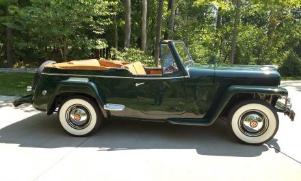 Simply Stunning: 1950 Willys-Overland VJ-3 Jeepster – Sold!