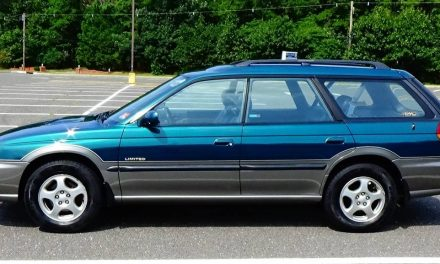 First SUW: 1998 Subaru Outback Limited 5-Speed – STILL $6,499
