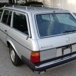 Snow Bird: 1984 Mercedes Benz W123 300TD Estate – SOLD!