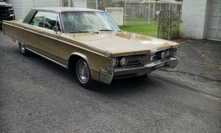 Grampa's New Car: 1967 Chrysler New Yorker Four-Door Hardtop – SOLD!