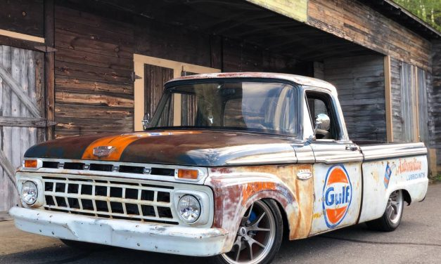 FrankenFord: 1965 Ford F100 Street Machine – NOW $21,900