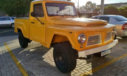 Brazilian Import: 1974 Ford Willys F-75 – Sold?