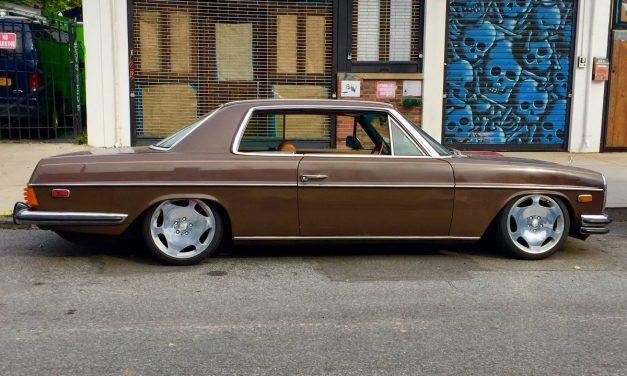Bagged Benz: 1976 Mercedes-Benz W114 280C – $8,400