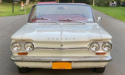 Moving Sale: 1964 Corvair Monza 4-speed Convertible – SOLD!