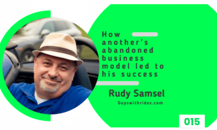 Rudy Interviewed On Carpreneur Podcast