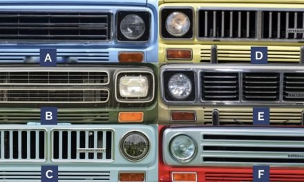 Guess What Ride 30: Which Scout II Grilles?