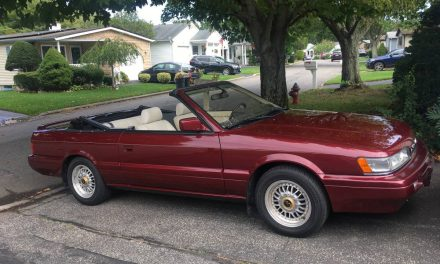Time Machine: 1992 Infiniti M30 Convertible – NOW $10,999