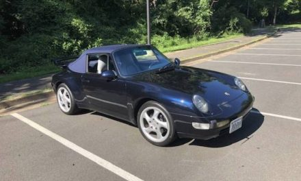 Last of the Air-Cooleds: 1996 Porsche 911 Cabriolet – SOLD!
