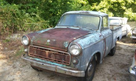Restore, Restomod, or Rat Rod: 1964 Datsun 320 1200 Pickup Project – SOLD!