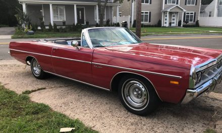 Nothing Wrong: 1969 Dodge Polara 500 Convertible – Sold?