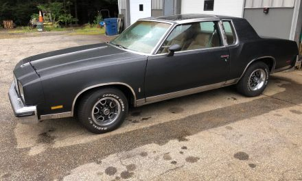 Good Bones: 1979 Oldsmobile Cutlass Calais Project – SOLD!