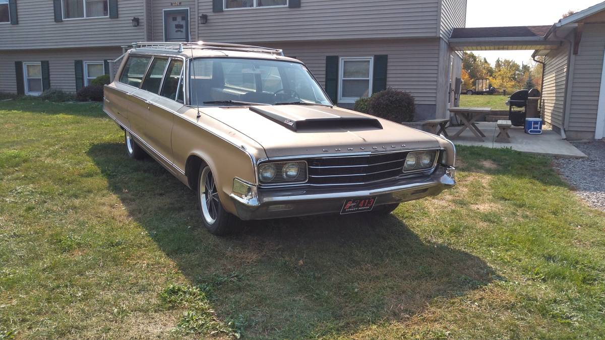 Hurst Equipped 1965 Chrysler New Yorker Station Wagon Sold Guyswithrides Com