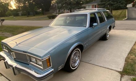 Your Grandparents' Olds: 1987 Oldsmobile Custom Cruiser 55K Mile Survivor – SOLD!