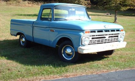 Barn Flip: 1966 Ford F100 – SOLD!