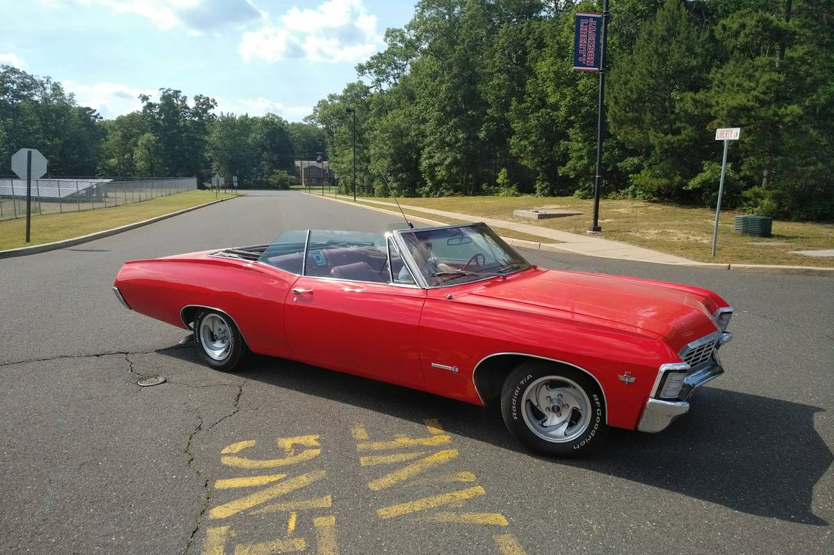 One Year Gone  1967 Chevrolet Impala Ss Convertible Mild
