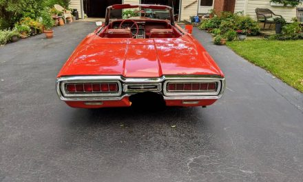 Seeing Red: 1965 Ford Thunderbird Convertible – Sold!