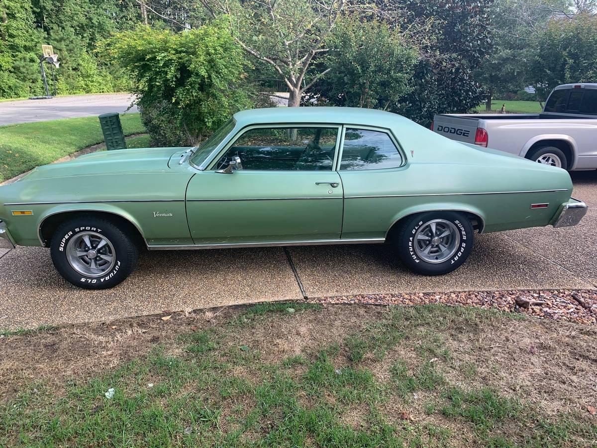 1974 Pontiac Ventura For Sale Guyswithrides Com