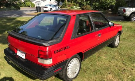 None This Nice: 1985 Renault Encore Spring Special Edition – $3,500