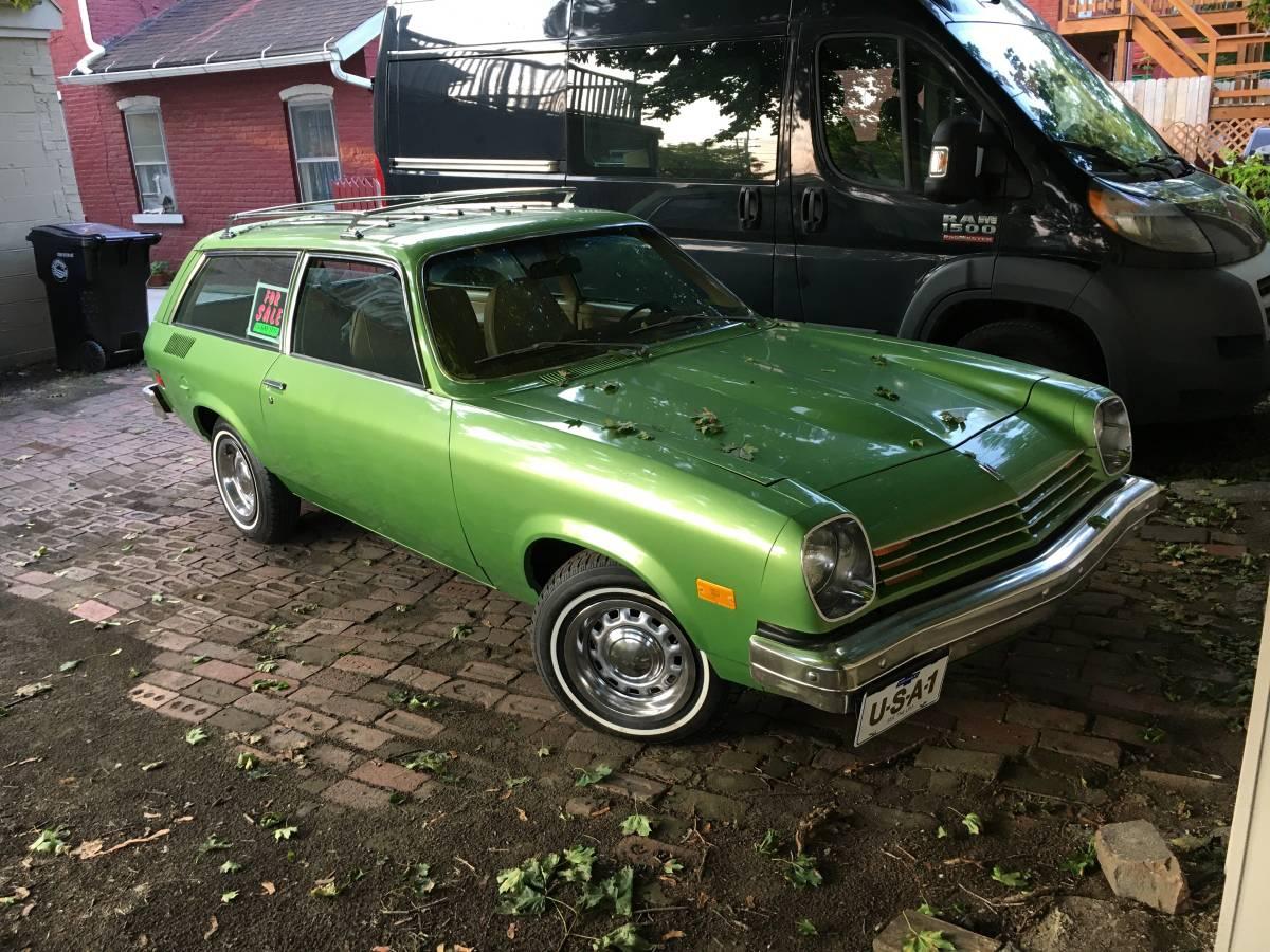 Hell Freeze II: 1976 Chevrolet Vega Wagon 14K Time Capsule ...