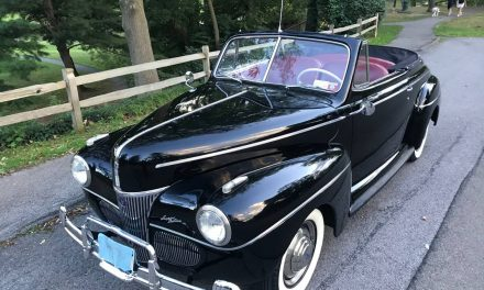 Highly Recommended: 1941 Ford Super De Luxe Convertible – SOLD!