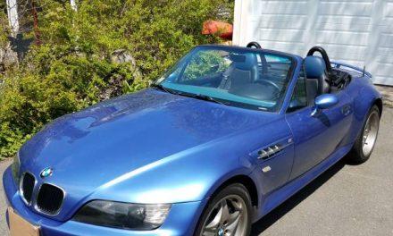 Estoril Ecstasy: 1999 BMW M Roadster – $12,345