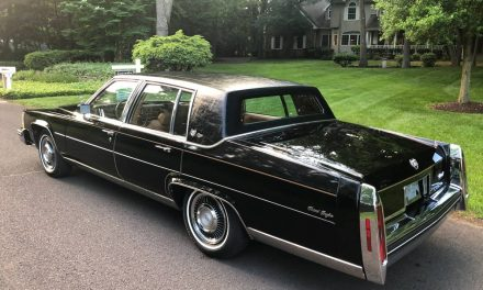 NEW! Award 46: 1984 Cadillac Fleetwood Brougham D'Elegance 18K Mile Survivor – SOLD!