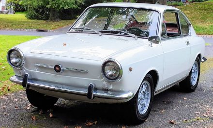 Rear Engined: 1966 Fiat 850 Coupe – Listing Expired