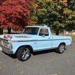 Coyote Pretty: 1974 Ford F100 Short Bed Restomod – $45,000