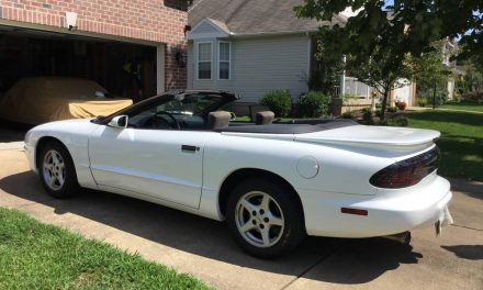 LT1 Sleeper: 1995 Pontiac Firebird Formula Convertible – Sold?