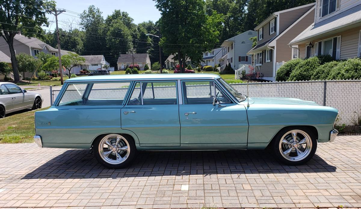 Ten Years Gone: 1966 Chevrolet Chevy II Nova 4Dr Station ...