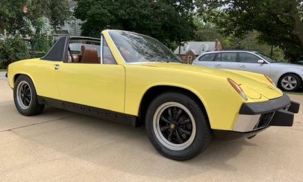 Yellowed Orange: 1973 Porsche 914 1.7 – Sold?