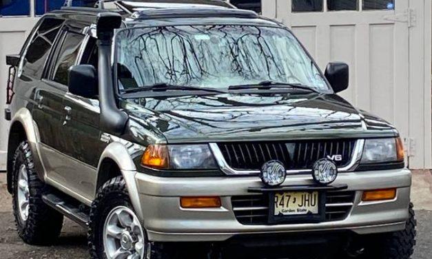 Truck Frame Tough: 1997 Mitsubishi Montero Sport 5-Speed – SOLD!