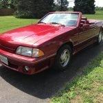 1 of 247: 1989 ASC McLaren Mustang Roadster – $10,500