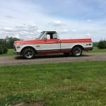 Walk on The Wideside: 1972 GMC C1500 Sierra Short Bed Pickup – $27,500