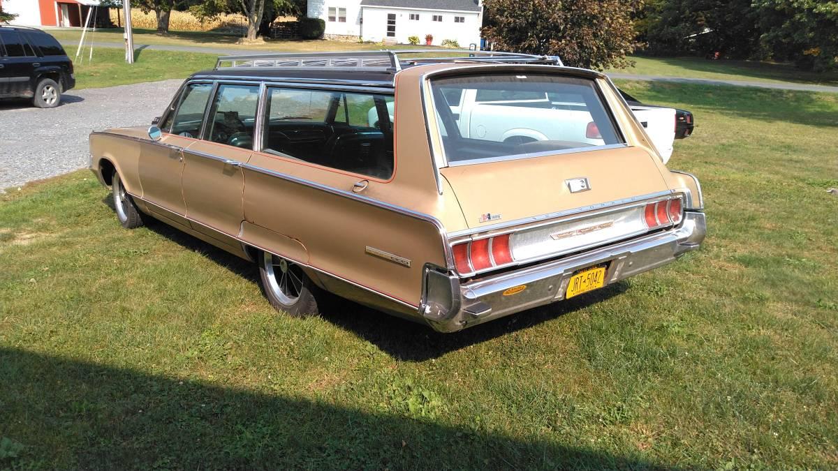 Hurst Equipped  1965 Chrysler New Yorker Station Wagon