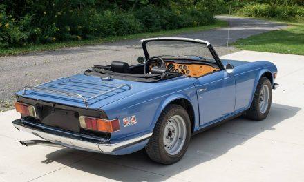 Fresh Drivetrain: 1973 Triumph TR6 – Sold?