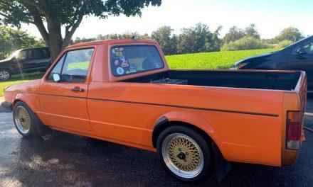 RAD Rabbit: 1982 Volkswagen Golf Caddy GTI Swap – SOLD!