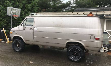 Quigley Conversion: 1983 GMC 3500 Vandura 4×4 – STILL $12,000 OBO
